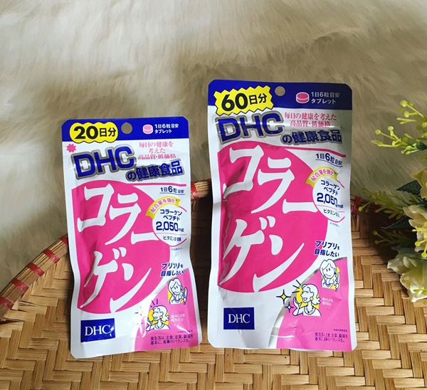 Viên uống Collagen DHC dạng viên Nhật Bản