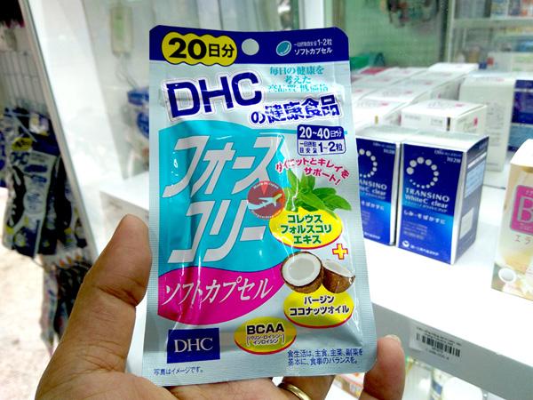 Viên uống giảm cân DHC
