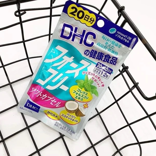 review viên uống giảm cân DHC Nhật Bản