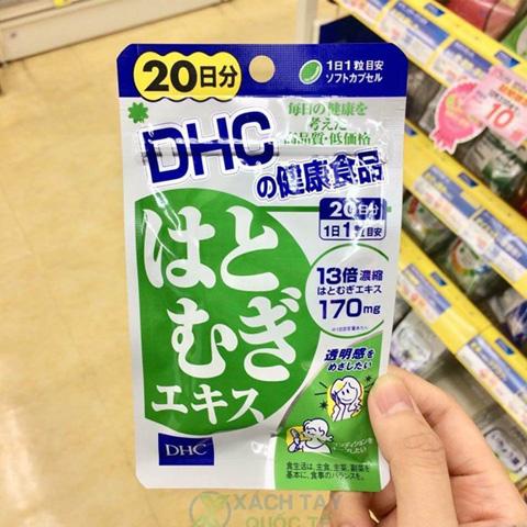 Viên uống trắng da DHC 20 ngày Nhật Bản