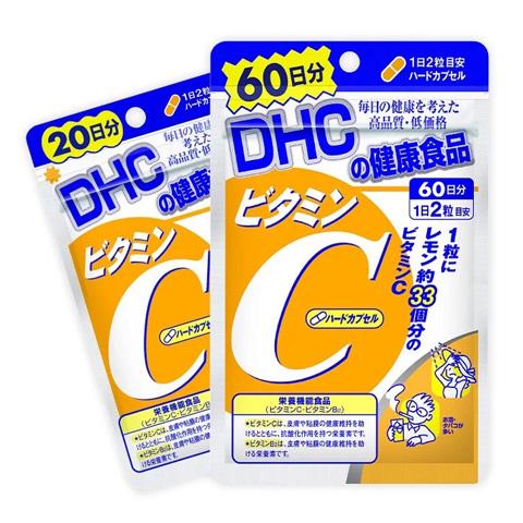 Viên uống vitamin C DHC Nhật Bản giúp làm đẹp da