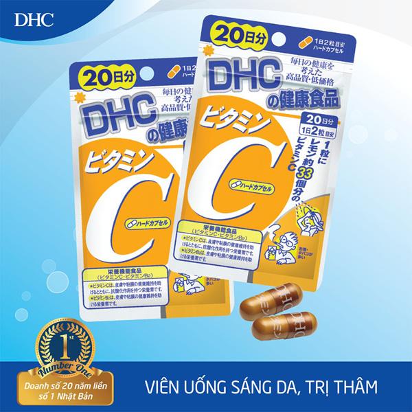 Viên uống vitamin C DHC
