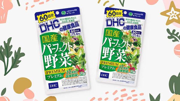 review DHC rau củ - viên Uống Rau Củ DHC Nhật Bản