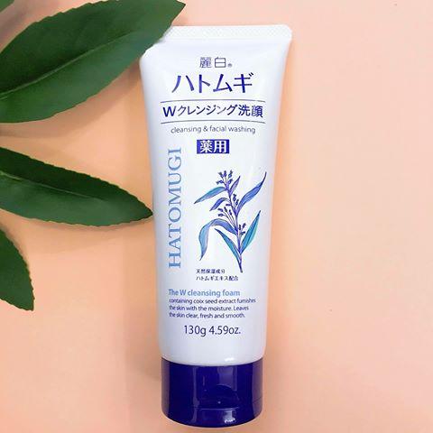 Sữa rửa mặt Hatomugi Naturie ý dĩ Nhật Bản