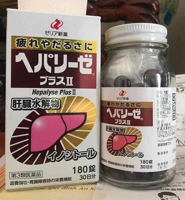 bổ gan Nhật Bản Liver hydrolysate 180 viên