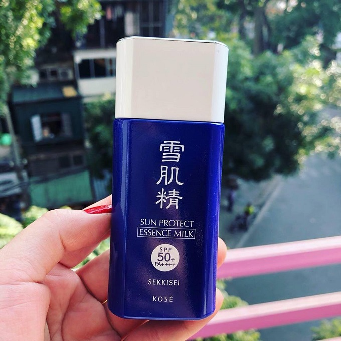 Kem chống nắng Kose Milk Gel Sekkisei Nhật Bản