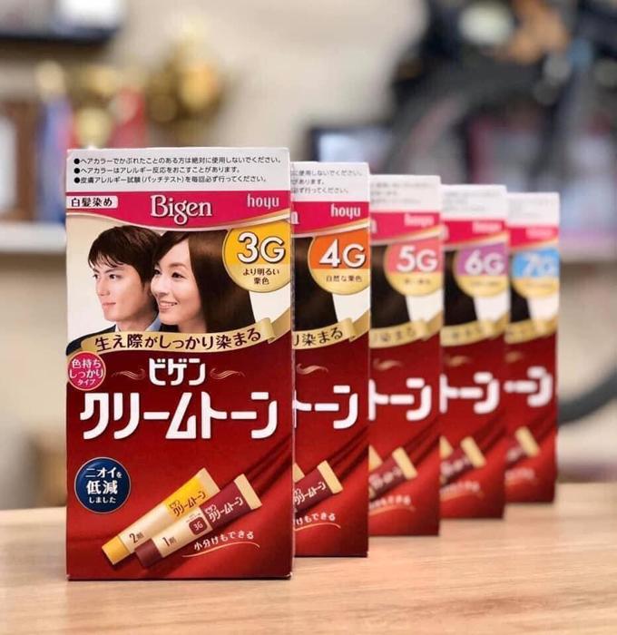 Thuốc nhuộm tóc Bigen Nhật Bản hàng nội địa uy tín