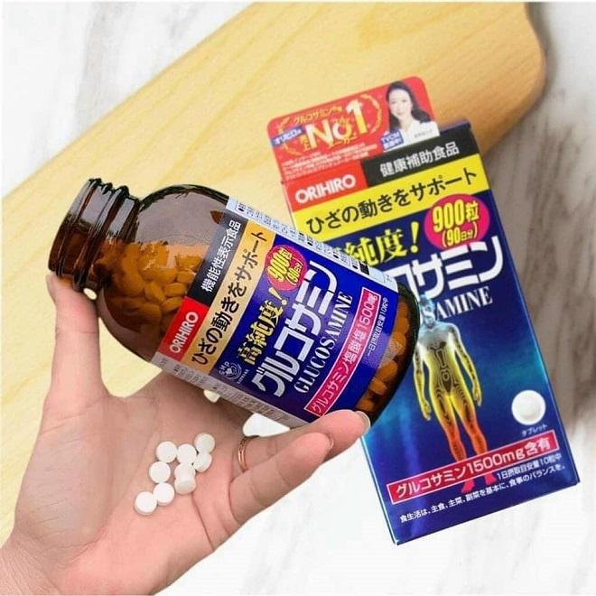 Đánh giá Glucosamine Orihiro 1500mg của Nhật