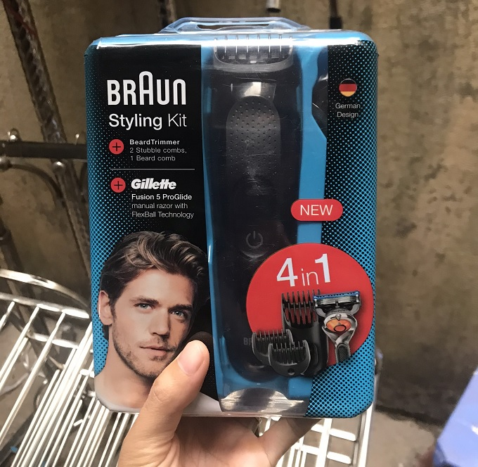 Máy cạo râu Braun Styling kit 4 in 1