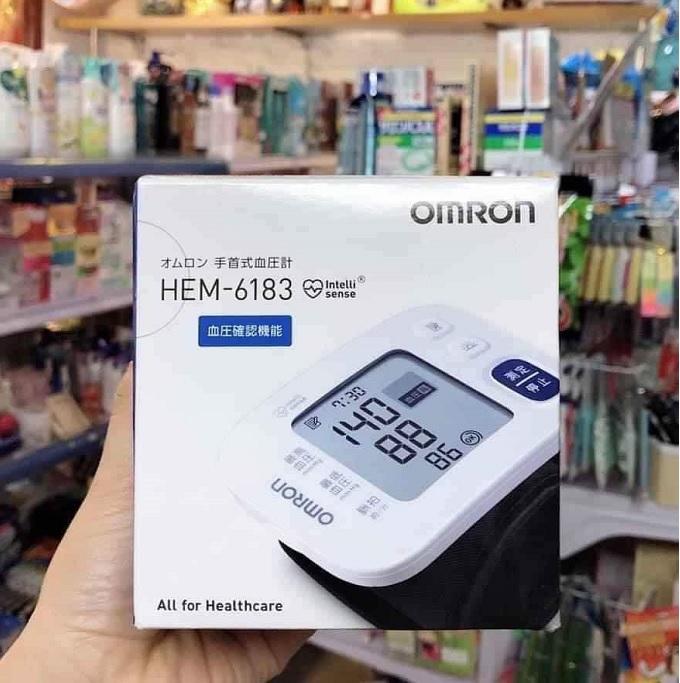 Máy đo huyết áp omron HEM-6183 nội địa Nhật