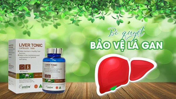 bổ gan Liver Tonic Careline