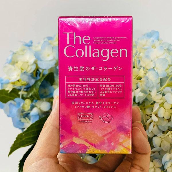 The collagen dạng viên của Shiseido