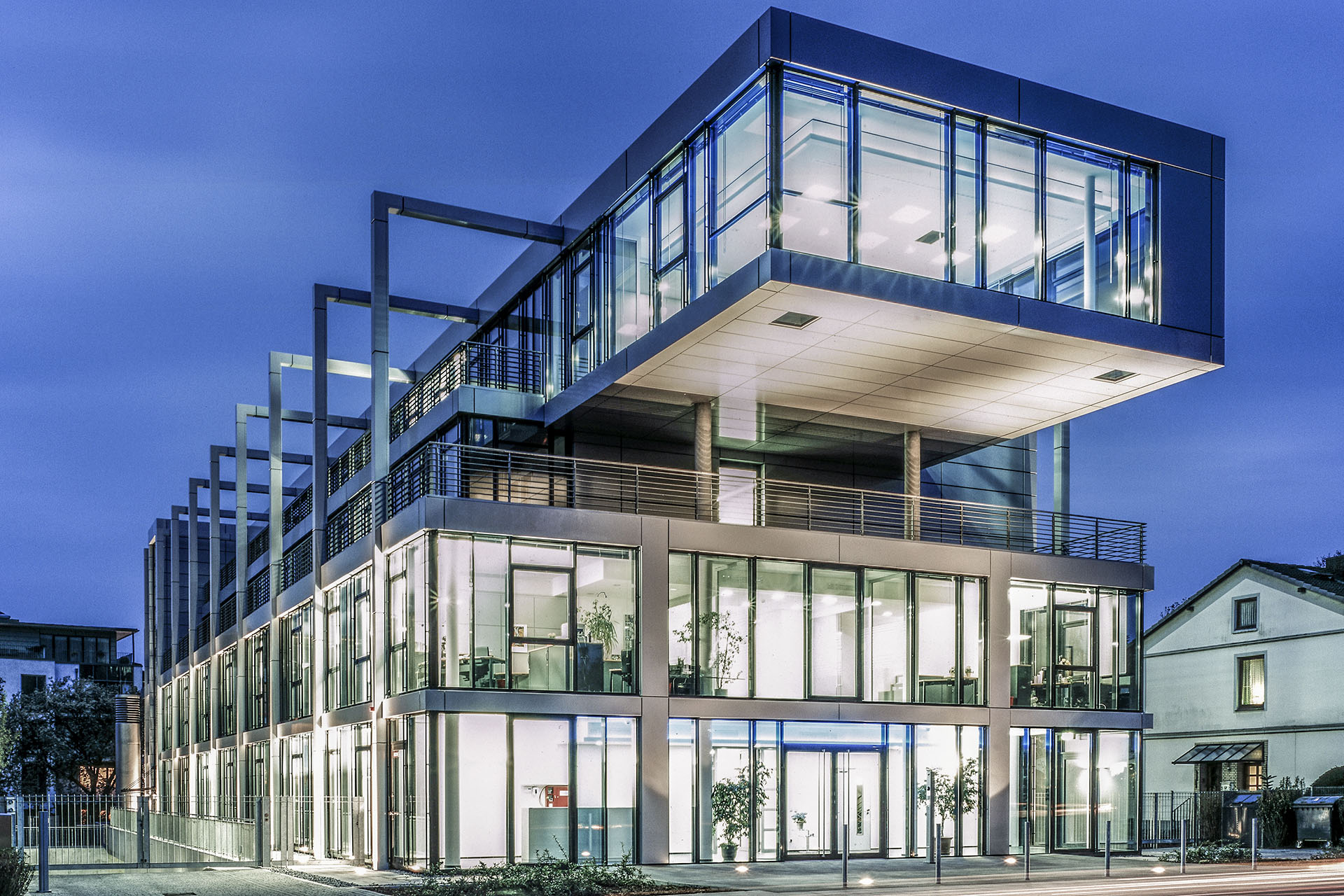 medac Bürogebäude