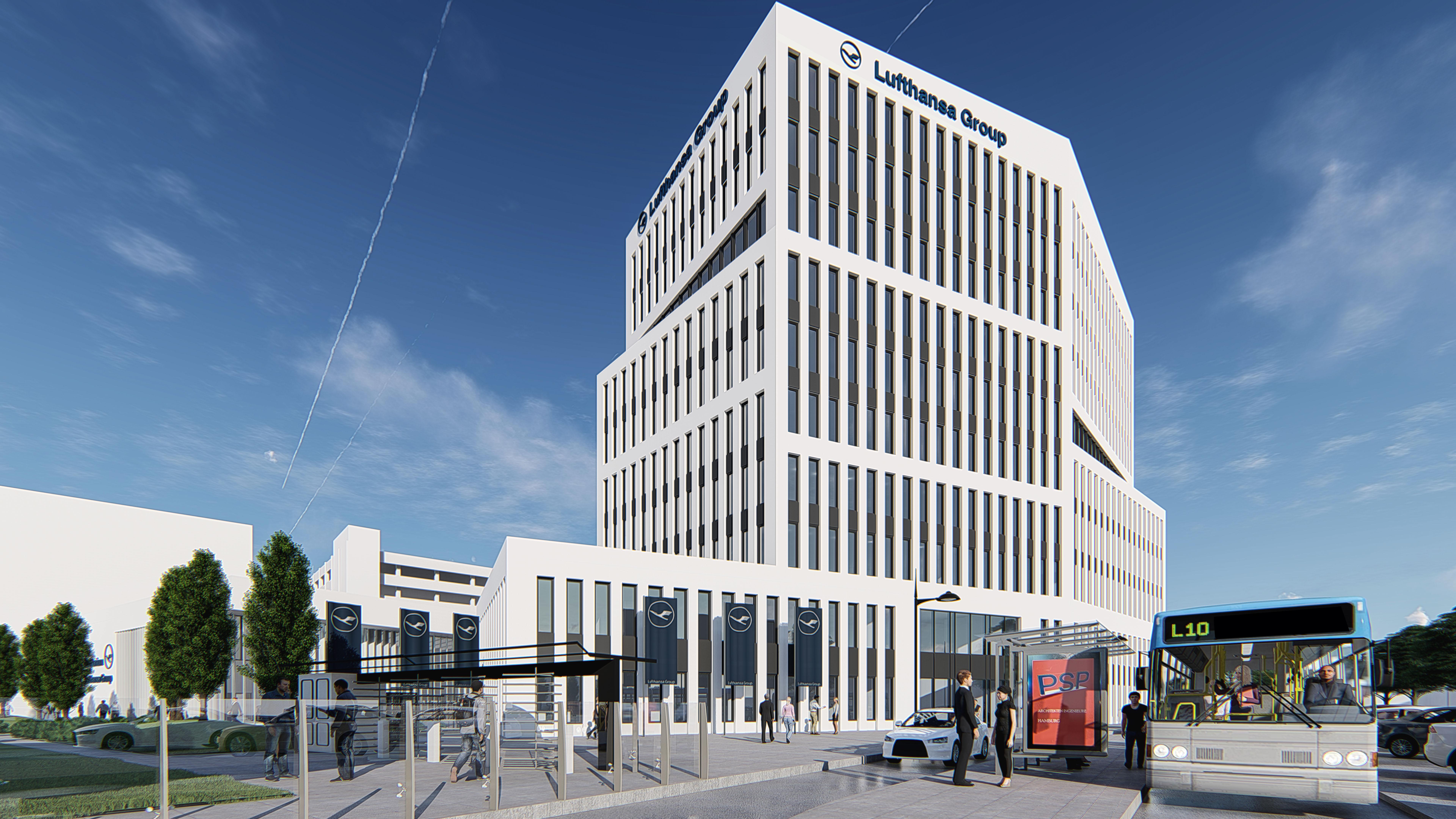 Lufthansa Verwaltungsgebäude