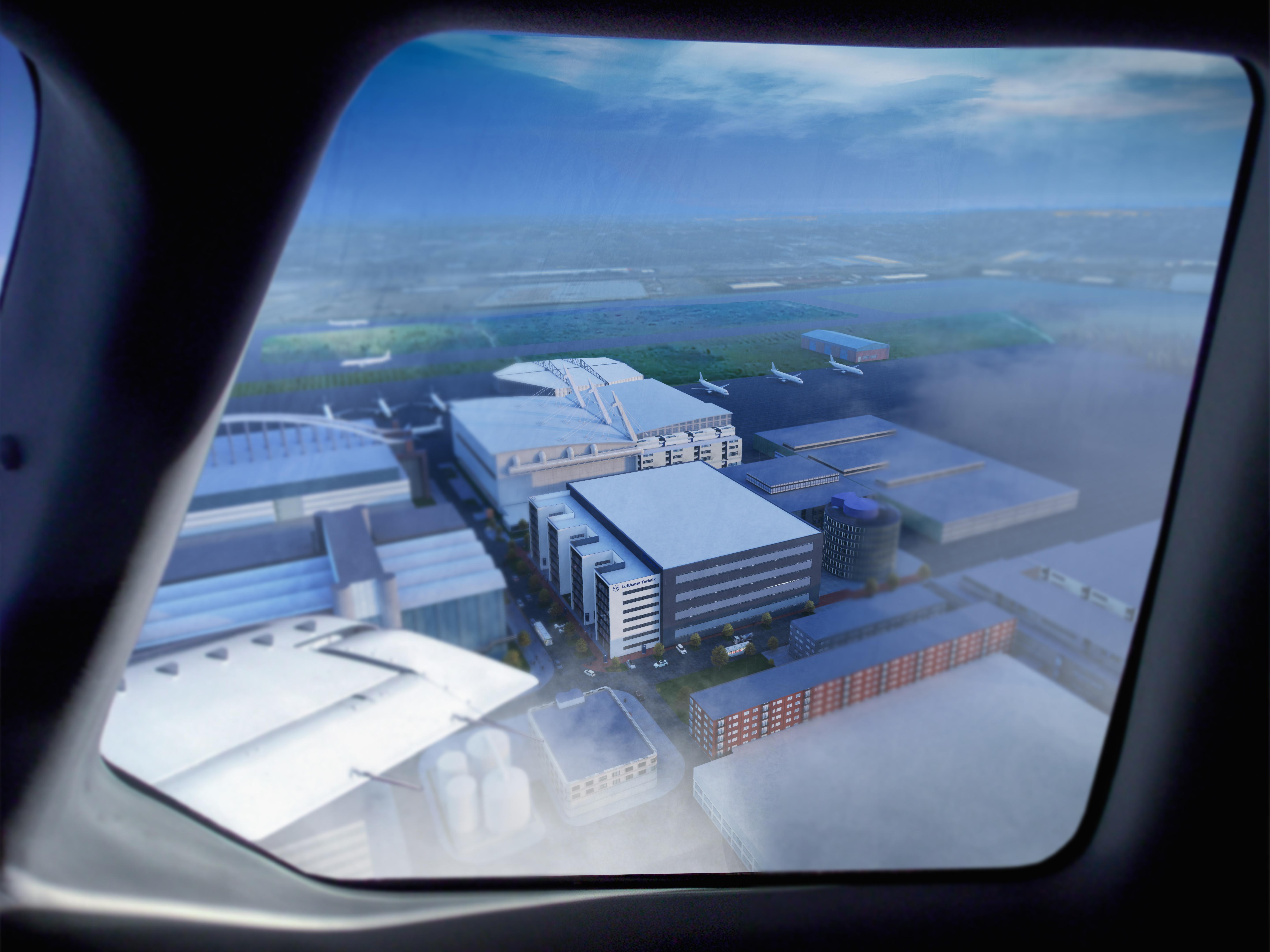 Lufthansa Werkstattgebäude