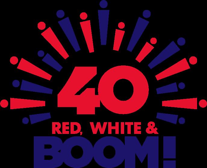 Red, White & BOOM! full color logo