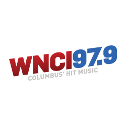 WNCI 97.9 BOOM! colored logo