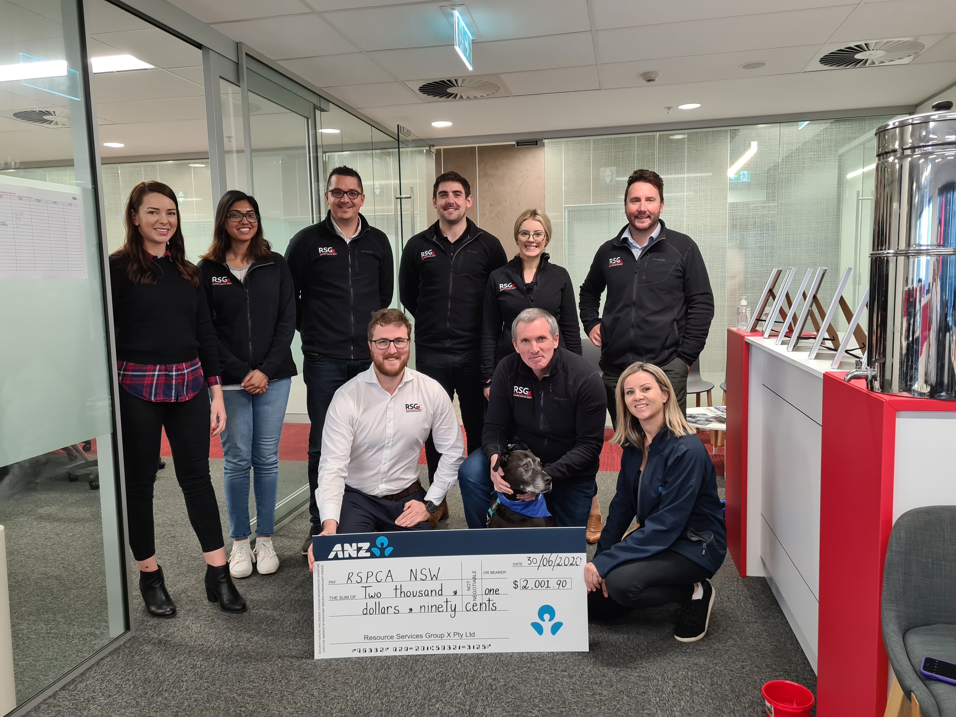 RSGx raises funds for RSPCA NSW