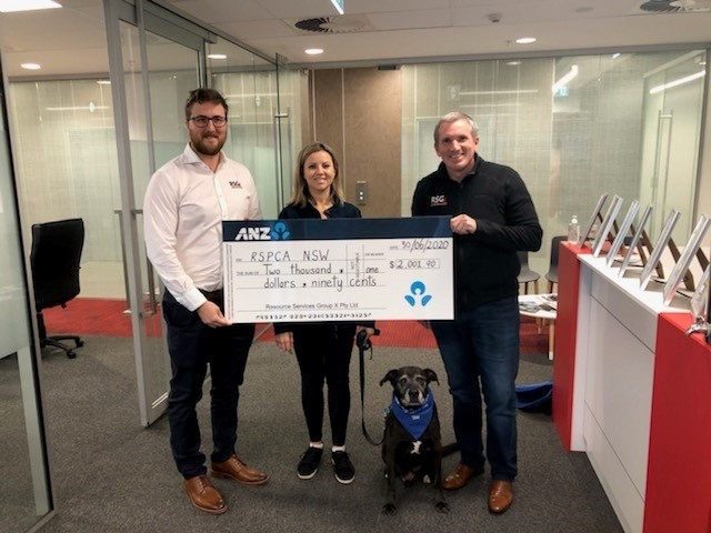 RSGx staff donate to the RSPCA