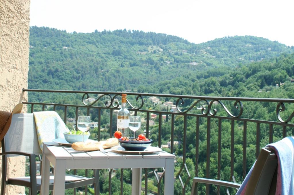 Top Studio balcony view