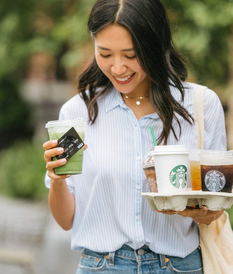Starbucks® Rewards Visa® Credit Card: Starbucks Coffee Company