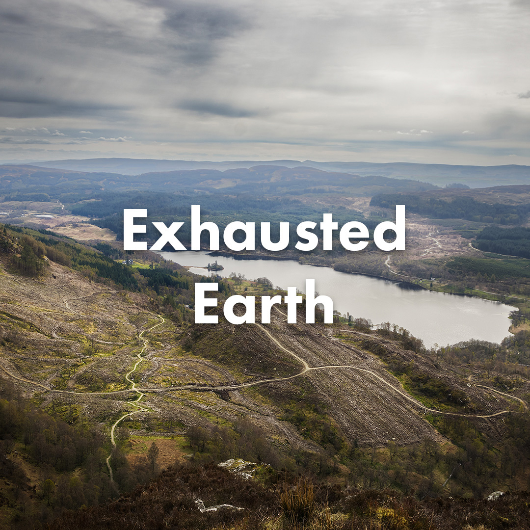 Exhausted Earth
