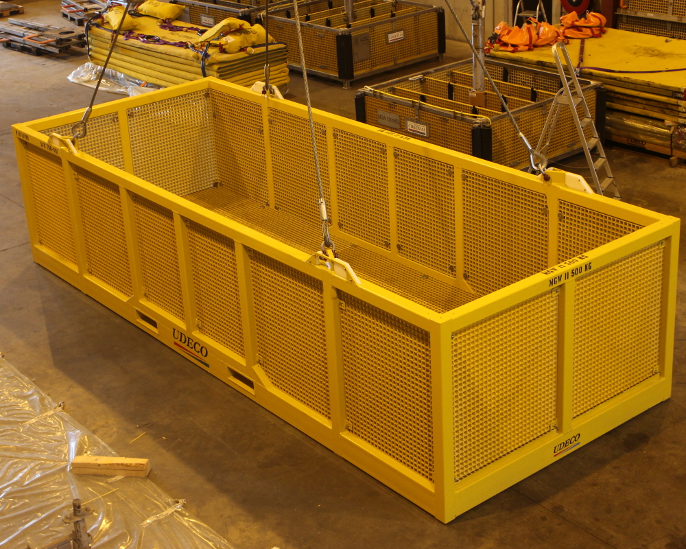 Ubas H ROV Basket in standard configuration.