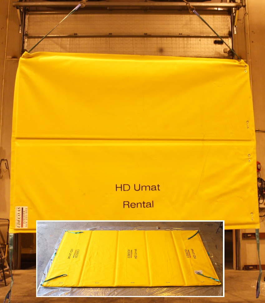 HD Umat subsea mattress.