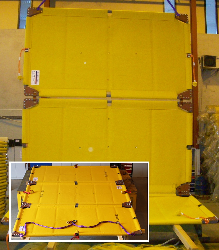TS Umat subsea mattress.
