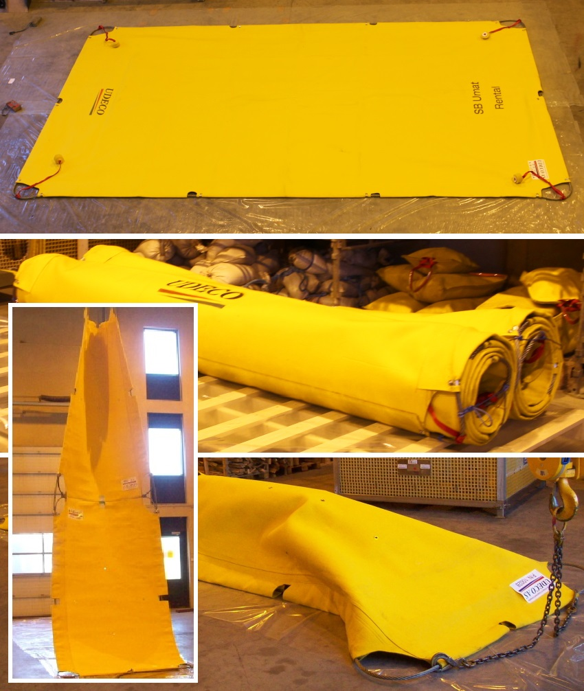 SB Umat subsea mattress.