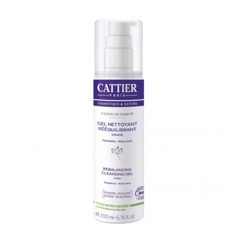 Gel nettoyant visage de Cattier