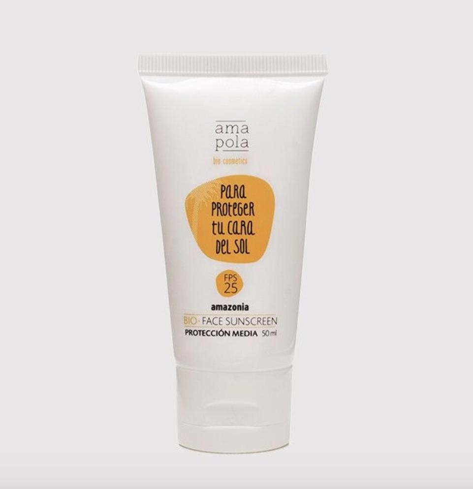 Crème solaire visage AmaPola