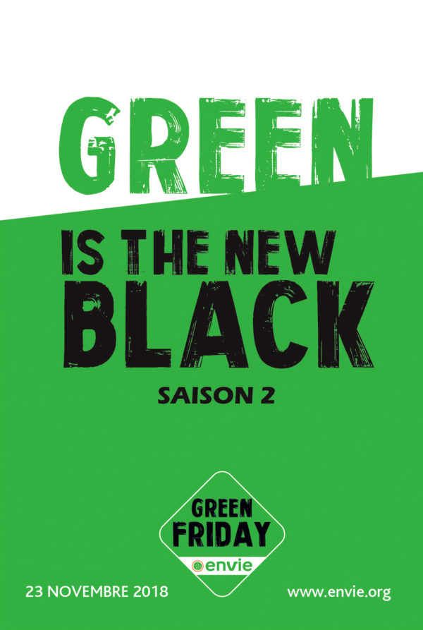 "Affiche ""Green is the new Black"""