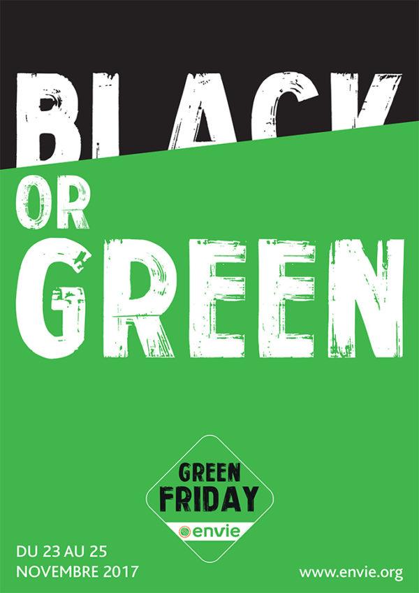 "Affiche ""Black or Green"""