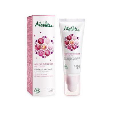 Crème nectar de rose de Melvita
