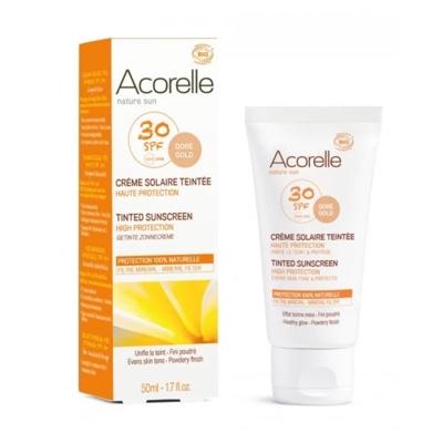 Crème solaire visage teintée Acorelle