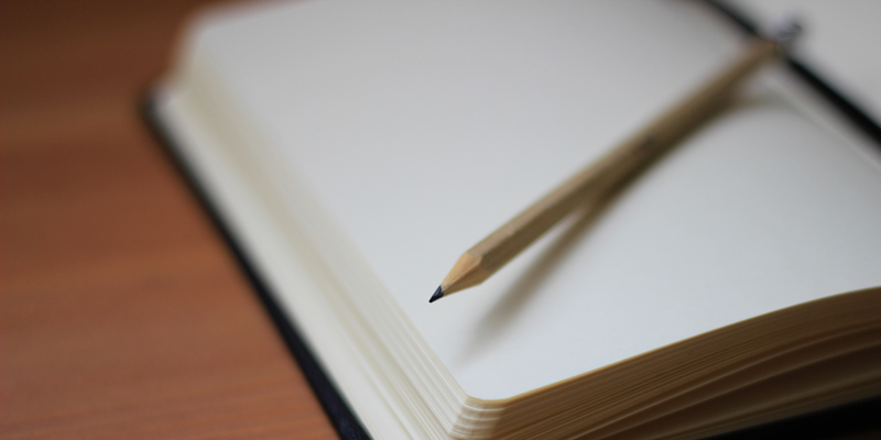 Le plaisir d'écrire sur du papier