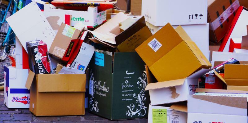 Accumulation de déchets