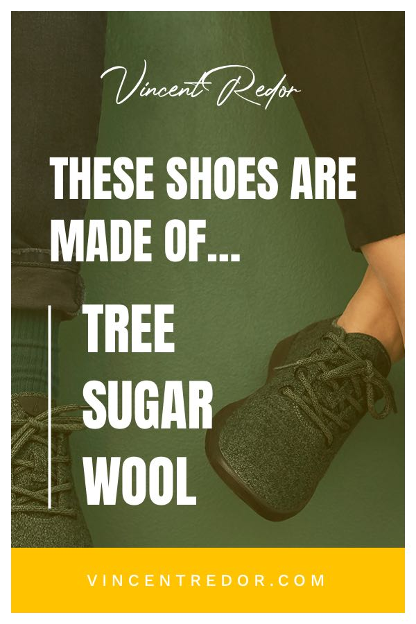 Eco-Friendly shoes made of tree, sugar, and wool - Vincent Redor