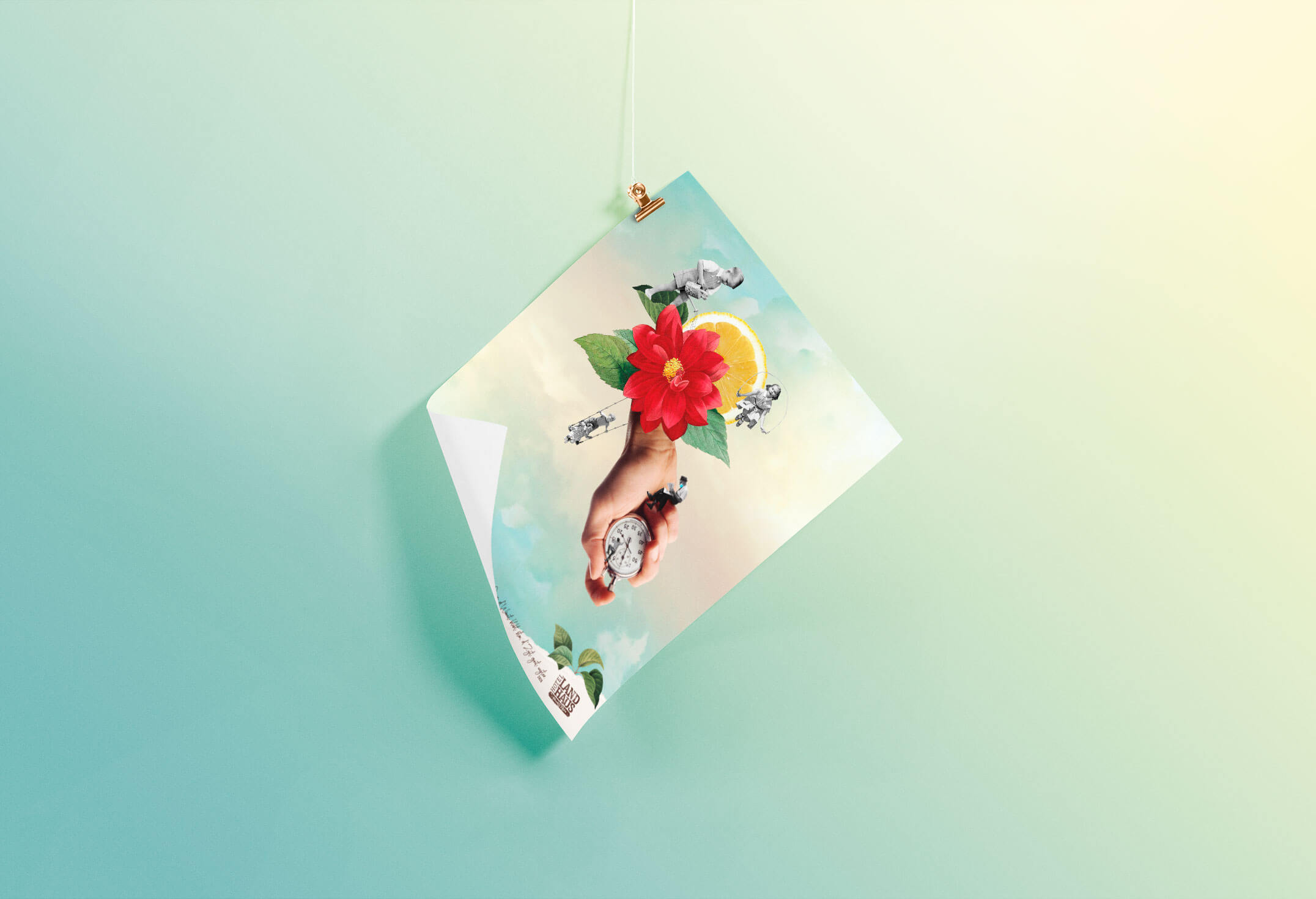 collage poster albert&frida in bern by raissa lara lütolf by studio nux