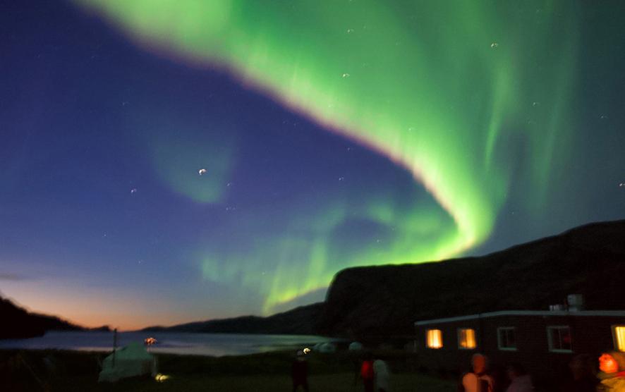 Northern Lights at Base Camp