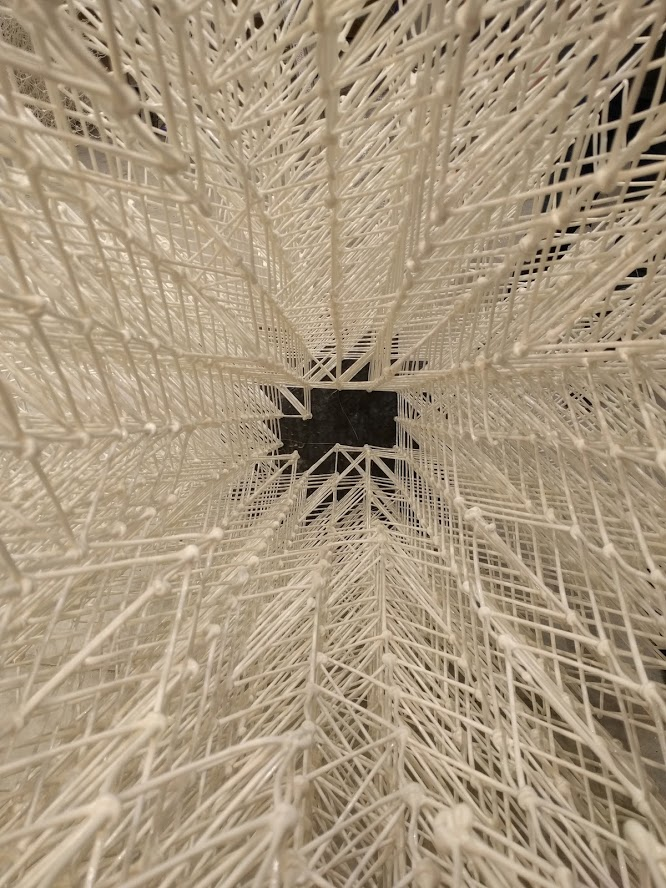 3D printed mesh for the croatian pavilion at the Venice biennale the collective a