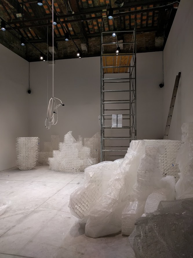 Arsennale at the venice biennale of architecture the collective a room 3D printing pavilion