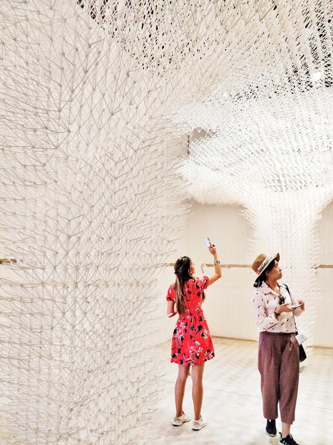architecture biennale cloud pergola croatian pavilion the collective a 3d printing structure