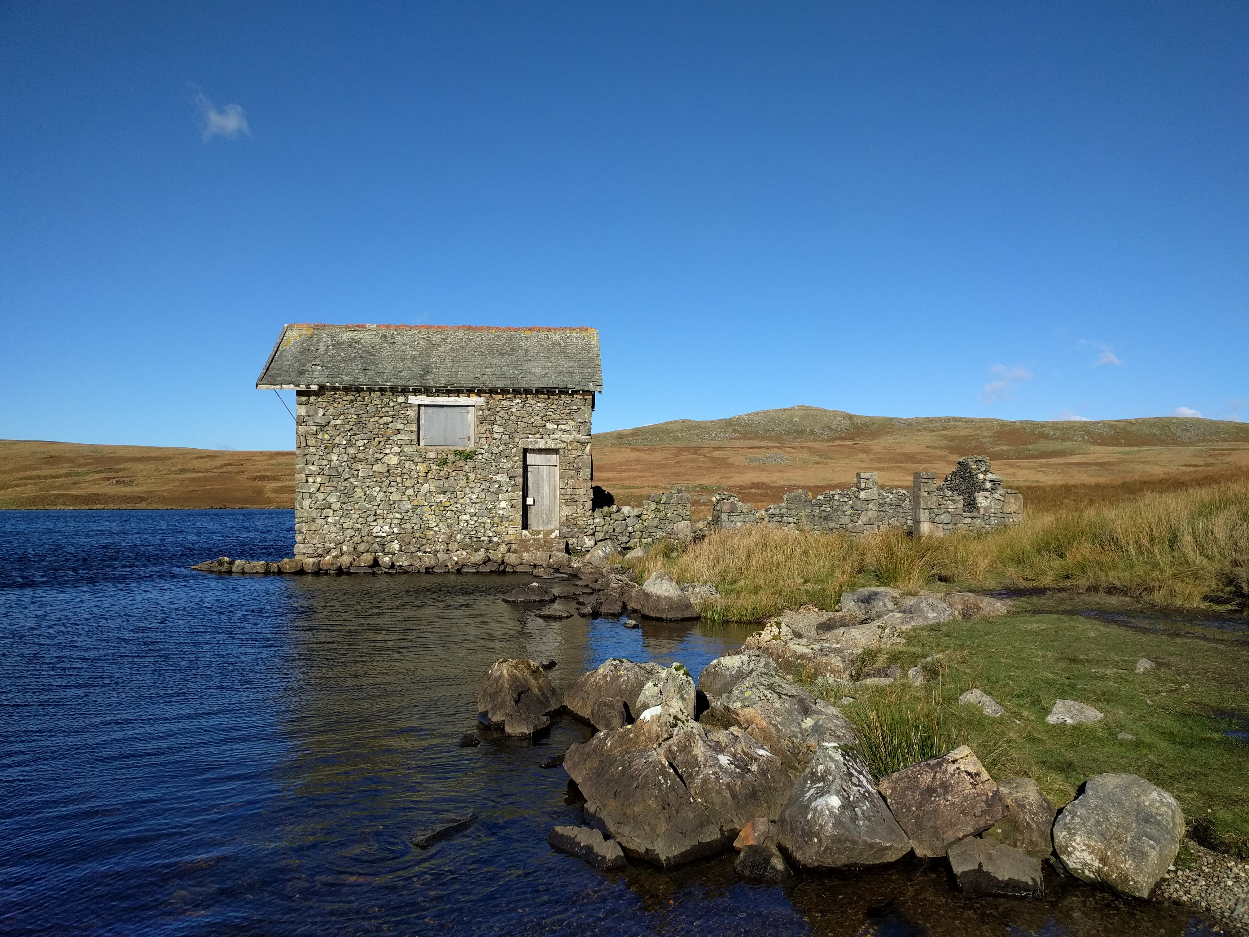restoration devoke water boathouse lake district the collective a