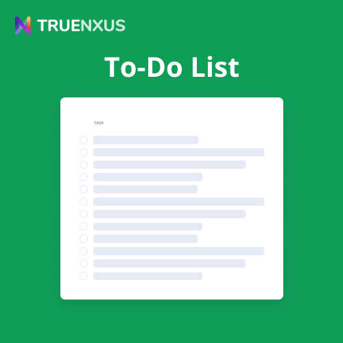 Google Sheets To-Do List