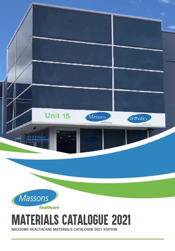 Massons Healthcare 2021 Materials Catalogue