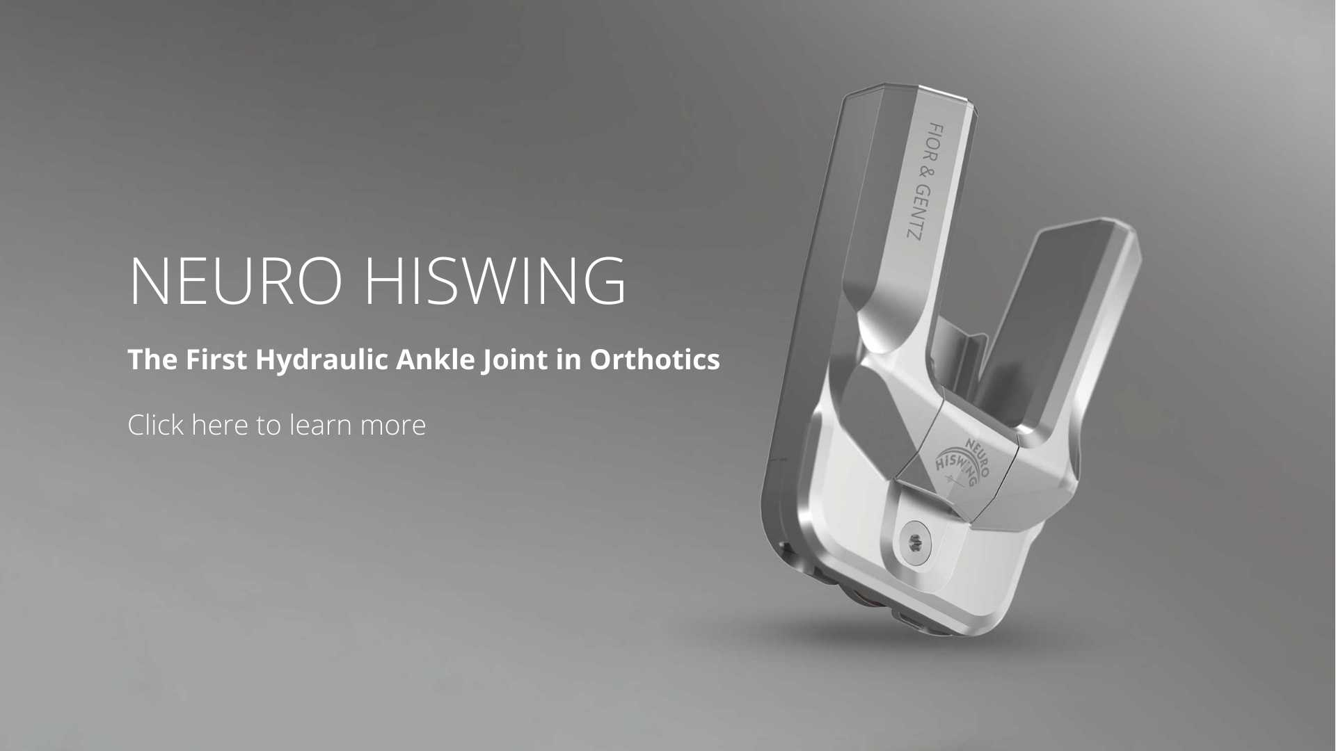 Neuro HiSwing Ankle Joint