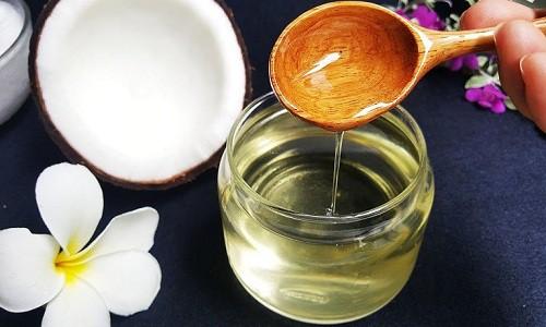 chữa chàm khô bằng dầu dừa