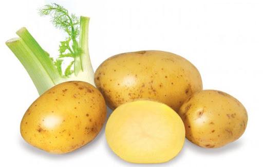 Cách trị vết chàm đỏ ở chân bằng khoai tây